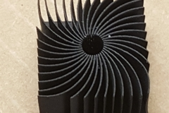 3D printed heat sink